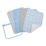 Trend Lab® Logan 4-pk. Burp Cloths