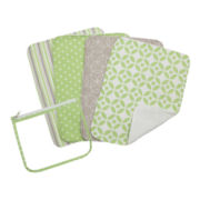 Trend Lab® Lauren 4-pk. Burp Cloths