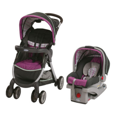 jcpenney.com | Graco® FastAction™ Fold Click Connect™ Travel System - Nyssa