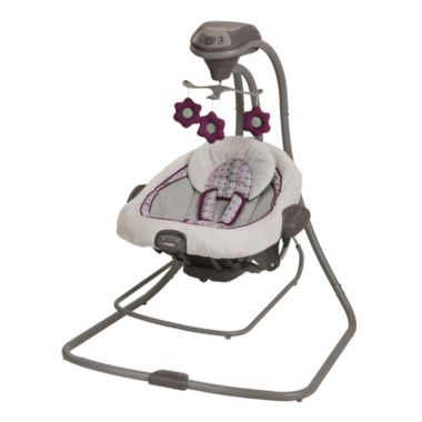 jcpenney.com | Graco® Duet Connect™ LX Swing + Bouncer - Nyssa