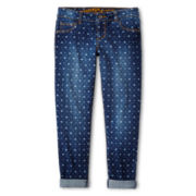 Arizona Ankle Cropped Jeans - Girls 6-16 and Plus