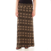 by&by® Print Knit Maxi Skirt