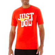 Nike® Just Do It Slash Tee