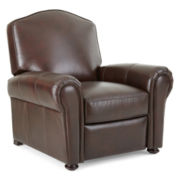 Cigar-Arm Leather Recliner