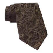Claiborne® Tonal Paisley Tie