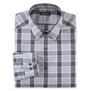 Claiborne® Plaid Dress Shirts - Slim