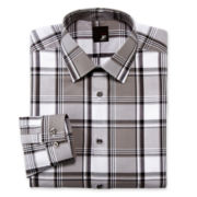 JF J. Ferrar® Plaid Dress Shirt - Slim
