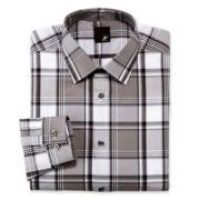 JF J. Ferrar® Plaid Dress Shirt - Slim