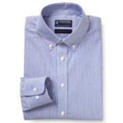 Stafford® Signature Non-Iron 100% Cotton Dress Shirt-Big & Tall