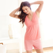 Ambrielle®  Knit Sleep Tank Top or Shorts