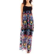 nicole by Nicole Miller® Sleeveless Cutout Maxi Dress