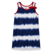 Okie Dokie® Americana Side-Knot Dress - Toddler Girls 2t-5t