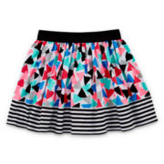 Okie Dokie® Print Skort - Preschool Girls 4-6x