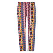 LuLu Print Ankle-Length Leggings - Girls 7-16