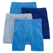 Hanes® Ultimate 4-pk. Boxer Briefs - Boys