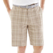 PGA TOUR® Flat-Front Striped Shorts