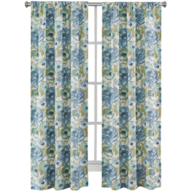 jcpenney.com | Richloom Zada 2-Pack Rod-Pocket Curtain Panels