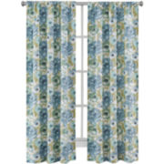 Richloom Zada 2-Pack Rod-Pocket Curtain Panels