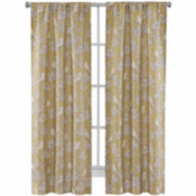 Richloom J Bird 2-Pack Rod-Pocket Curtain Panels