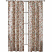 Richloom Vitera 2-Pack Rod-Pocket Curtain Panels