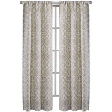 jcpenney.com | Richloom Labyrinth 2-Pack Rod-Pocket Curtain Panels