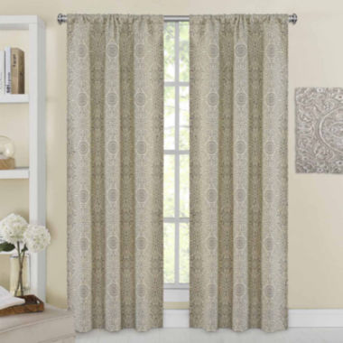 jcpenney.com | Richloom Libre 2-Pack Rod-Pocket Curtain Panels