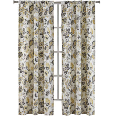 jcpenney.com | Richloom Bijoux 2-Pack Rod-Pocket Curtain Panels