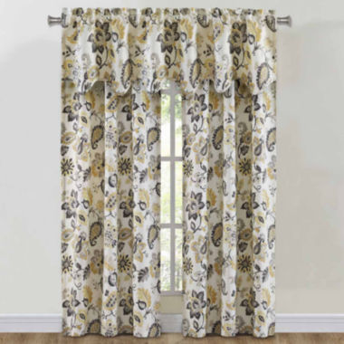 jcpenney.com | Richloom Bijoux Rod-Pocket Window Treatments