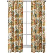 Richloom Ayer 2-Pack Rod-Pocket Curtain Panels