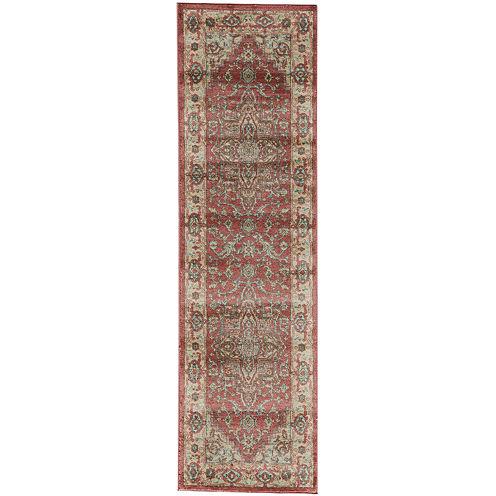 Momeni® Ghazni Rectangular Runner Rug