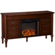 Ryan Electric Fireplace Console Table