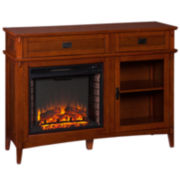 Percy Electric Fireplace Console Table