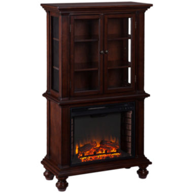 jcpenney.com | Jefferson Electric Fireplace Curio Cabinet