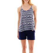 a.n.a® Woven Swing Tank Top or Poplin Utility Shorts