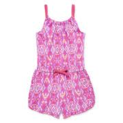 Okie Dokie® Ruffle-Hem Romper - Preschool Girls 4-6x