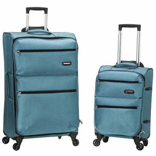 Rockland Gravity 2-pc. Hardside Luggage Set