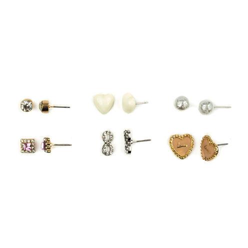 Carole 6-pr. Stud Earrings