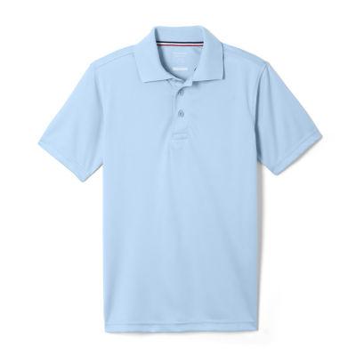 French Toast Boys Big Moisture Wicking Stretch Sport Polo Shirt