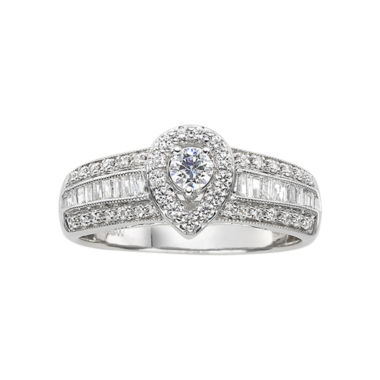 jcpenney.com | 5/8 CT. T.W. Diamond Pear-Style Engagement Ring