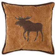 Scene Weaver™ Channeled Fleece Decorative Pillow