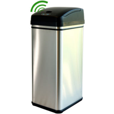 jcpenney.com | iTouchless® 13-Gal. Deodorizing Touchless Trash Can