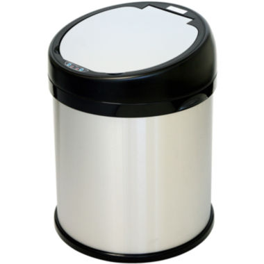 jcpenney.com | iTouchless® 8-Gal. Extra Wide Touchless Trash Can