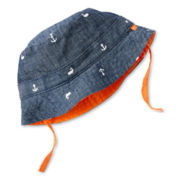 Carter's® Nautical Chambray Reversible Bucket Hat - Boys