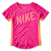 Nike® Hyper Speed Dri-FIT Short-Sleeve Top - Girls 4-6x