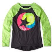 Xersion™ Graphic Raglan Tee- Girls 6-16 and Plus