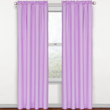 jcpenney.com | Eclipse® Kids Polka Dots Rod-Pocket Thermal Blackout Curtain Panel