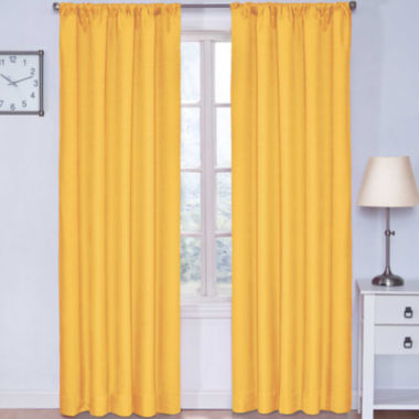 jcpenney.com | Eclipse® Kids Microfiber Rod-Pocket Thermal Blackout Curtain Panel