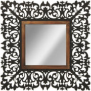 Scroll Square Wall Mirror