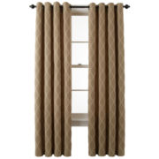 MarthaWindow™ Windsor Wave Grommet-Top Curtain Panel