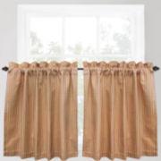 Park B. Smith Cortina Rod-Pocket Window Tiers